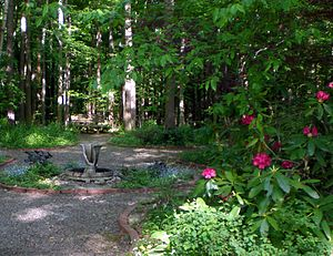 Lily Dale, New York - Image: Fox Cabin Site Lily Dale
