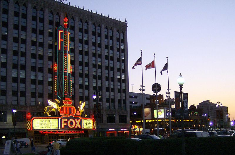 FoxD Sunset Marguee Hockeytown Cafe.jpg