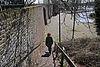 foto van Langs de Linge fragment van de stadsmuur