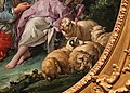 François boucher, stanno pensando all'uva, 1747, 04 pecore e montone.jpg