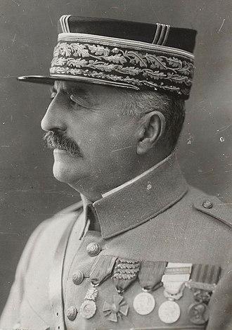 Louis Franchet d'Espèrey - Image: Franchet d'Esperey photo Henri Manuel