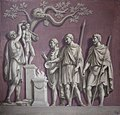 Francis Hayman (1708-1776) - Figures Crowning a Statue of Hercules (from the Arch of Constantine) - 355562 - National Trust.jpg