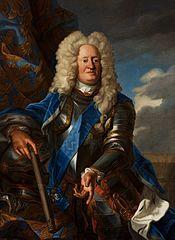 Portrait of Augustus William of Brunswick.