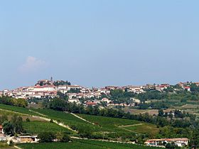 Vue sur Frassinello Monferrato.