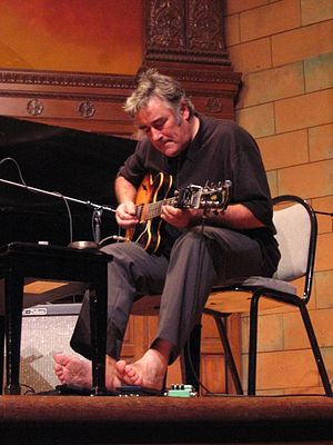 Fred Frith - Fred Frith performing at Mills College, Oakland, California in October 2005.
