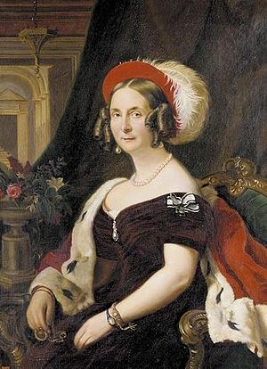 Leopold IV, Duke of Anhalt - Leopold's wife Princess Frederica Wilhelmina of Prussia