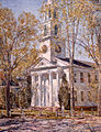Frederick Childe Hassam, Church at Old Lyme, 1906. Oil on canvas. Parrish Art Museum, Southampton, NY.jpg