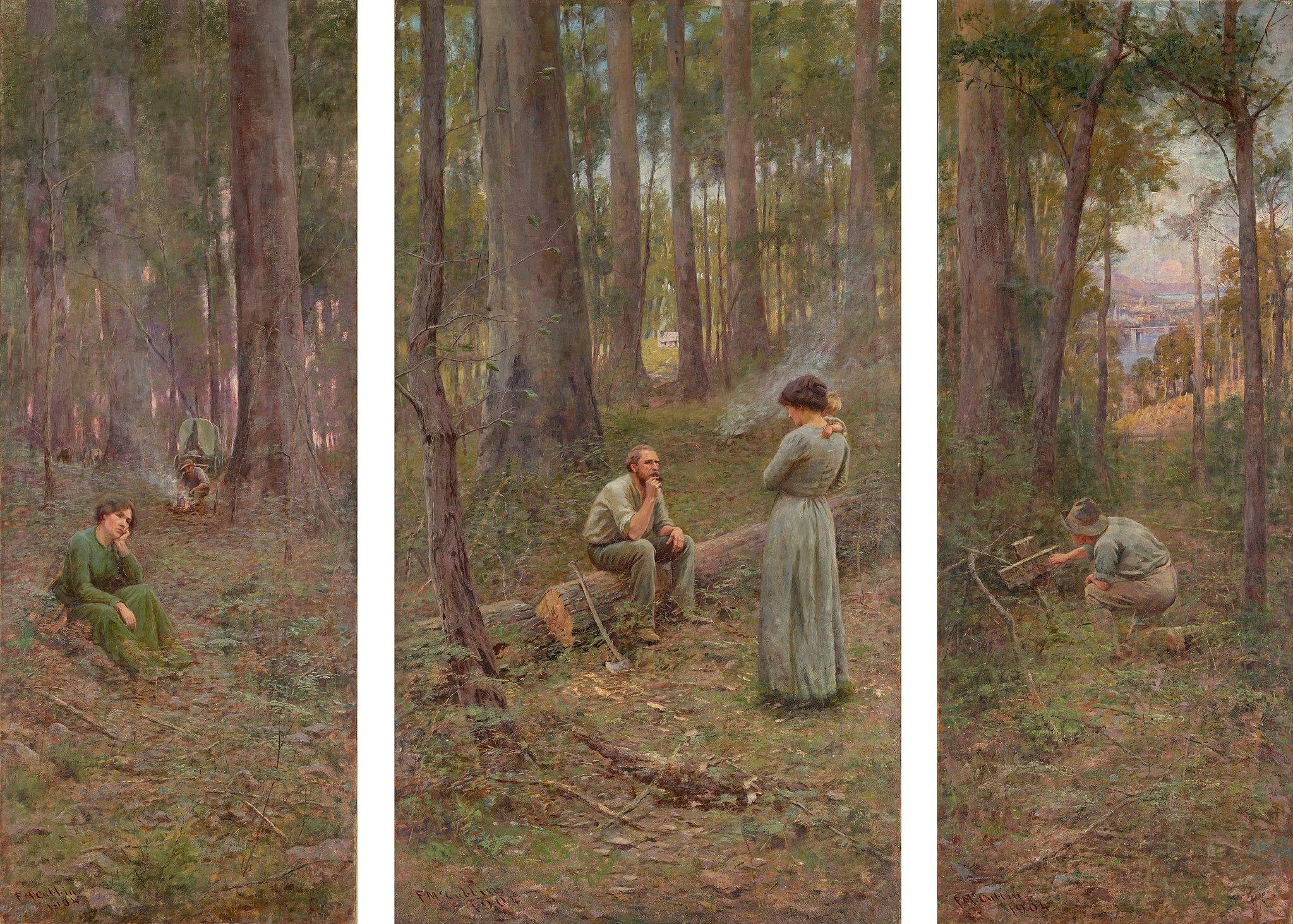 Frederick McCubbin - The pioneer - Google Art Project