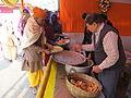 Free Food Distribution - Gangasagar Fair Transit Camp - Kolkata 2012-01-14 0607.JPG