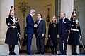 French President Hollande Bids Farewell to Secretary Kerry After They Met at the Élysée Palace (16290467571).jpg
