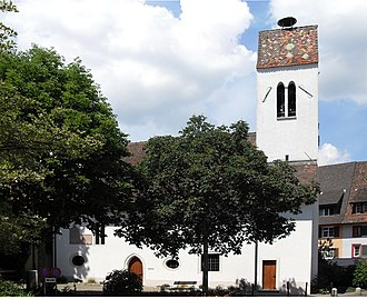 Frenkendorf - Image: Frenkendorf, Evangelisch reformierte Kirche