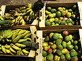 Fresh mangoes and bananas.JPG