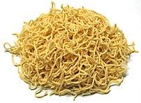 fresh ramen noodle (:ja:ラーメンの生麺)