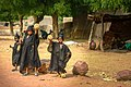 Freshly circumcised boys in Mali celebrating the event. (38771427862).jpg