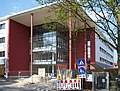 Friedrich-Dessauer-Gymnasium, Baustelle Haupteingang.jpg