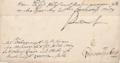 Friedrich I. Order Gegenzeichnung Kolb-von-Wartenberg an Obergericht Frankfurt O. 1707 (Detail).PNG