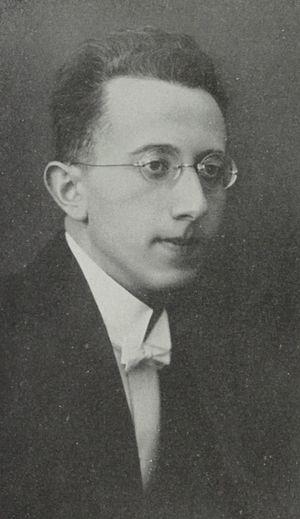 Fritz Mahler - Fritz Mahler in 1925