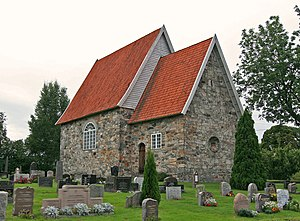 Frogner, Akershus - The old church in Frogner. Foto: Mahlum