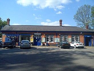 Warwick railway station - Image: Front of Warwick Railway Station