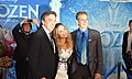 Frozen premiere, Peter Del Vecho, Jennifer Lee, Chris Buck, 2013.jpg