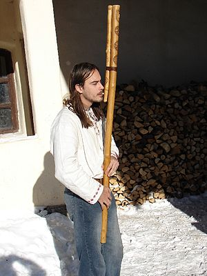 Music of Slovakia - The fujara, a traditional Slovak shepherd's pipe