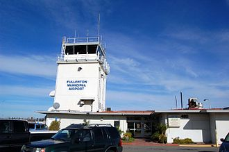 Fullerton Municipal Airport - Fullerton Municipal Airport tower