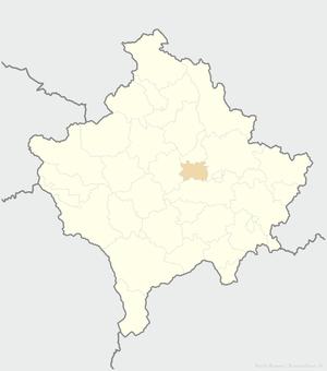 Kosovo Polje - Image: Fushë Kosovë Kosova Ovası