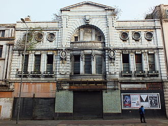 The Futurist Cinema, Liverpool - A view of the facade taken in December 2012