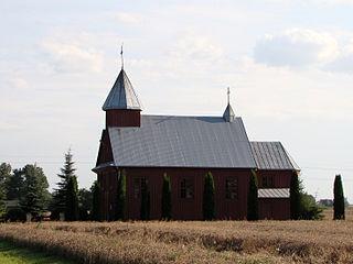 Górka-Zabłocie Village in Lublin Voivodeship, Poland