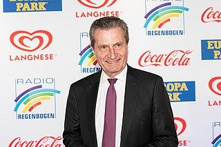 Günther Oettinger German politician (CDU)