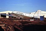 G-AMCA DC3 air Atlantique CVT 06-12-86 (32363631985).jpg