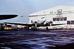 G-AMYJ DC3 Harvest Air CVT 03-02-90 (30778468674).jpg