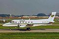 G-FLTY EMB.110P1 Keenair MAN 03SEP99 (6846784363).jpg