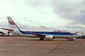 G-UKLF B737-42C Air UK Liesure MAN 14FEB95 (6302317807).jpg