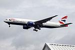 G-VIID Boeing 777 British Airways (14521932040).jpg