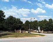 GA Diagnostic Prison - Road Sign Photo