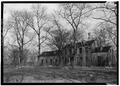 GENERAL VIEW OF WEST FRONT - Welfare Island, Farmhouse, New York, New York County, NY HABS NY,31-WELFI,1-1.tif