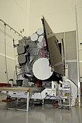 GOES O meteorolojik uydu, sabit yörüngeye girmeden önce.