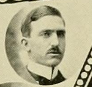George Krebs - Krebs pictured in The Monticola, West Virginia yearbook
