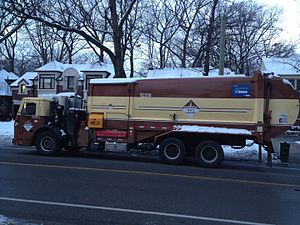 Miller Group (construction company) - Miller Waste Systems garbage collection truck