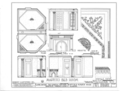 Gaineswood, 805 South Cedar Street, Demopolis, Marengo County, AL HABS ALA,46-DEMO,1- (sheet 19 of 25).png