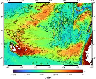 Galápagos hotspot Pacific volcanic hotspot