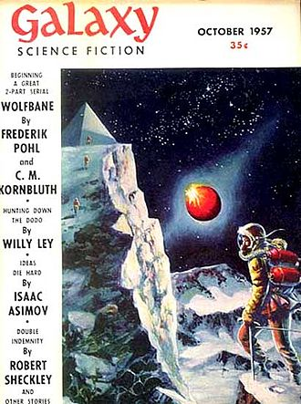 Wolfbane (novel) - Wolfbane was serialized in Galaxy Science Fiction in 1957, with a cover illustration by Wally Wood