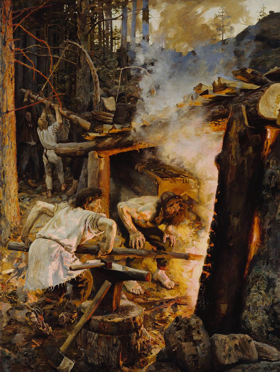 Gallen Kallela The Forging of the Sampo