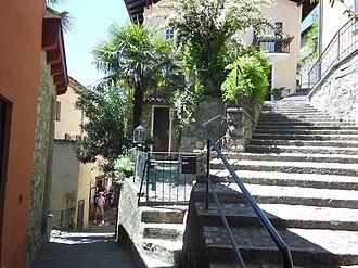 Gandria - Streets in Gandria