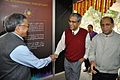 Ganga Singh Rautela Shakes Hands with Santanu Bhattacharya - Opening Ceremony - Exhibition Light Matters - BITM - Kolkata 2015-12-23 7098.JPG