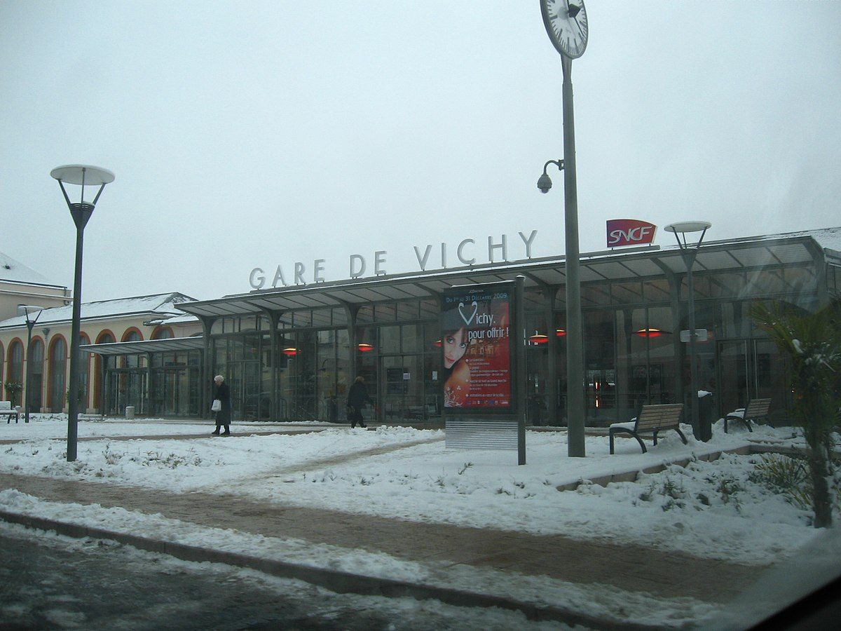 station vichy wikipedia