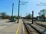 Gary Chicago Airport at Clark Road station (26645764175).jpg