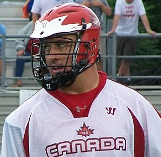 Gary Gait Canadian lacrosse player