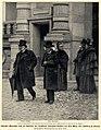 Gaston Boissier und Theodor Mommsen auf dem Weg zum Institut de France, 1901.jpg